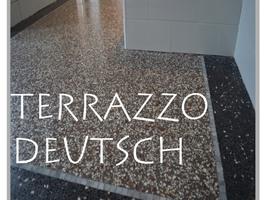 Terrazzo deutsch, historischer Terrazzo