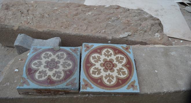 Zementplatten schleifen, Schleifen von Zementfliesen,Schleifverfahren Zementplatten